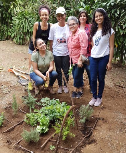 Text Box: Urban vegetable garden workshop